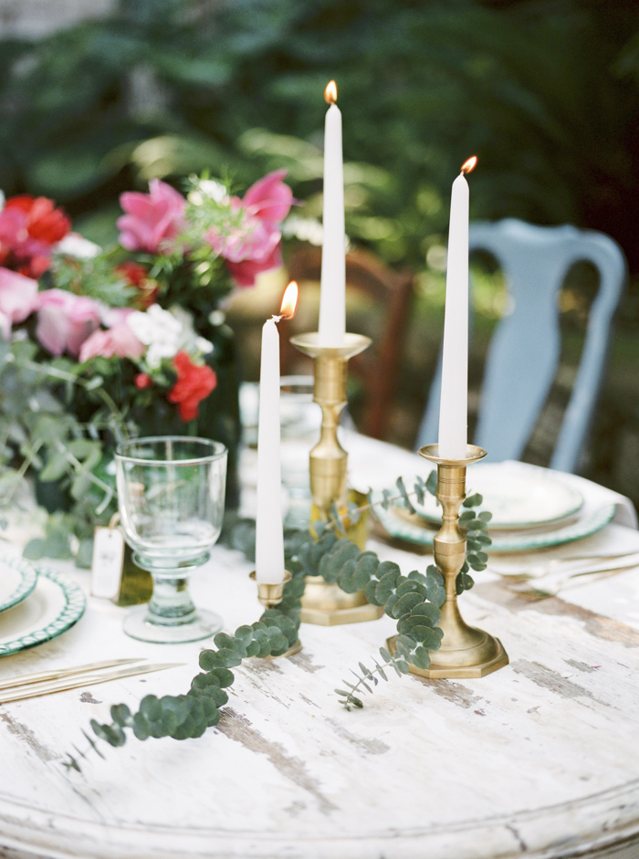 Spanish table decoration inspiration wedding