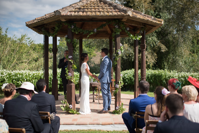 Rancho ingles wedding